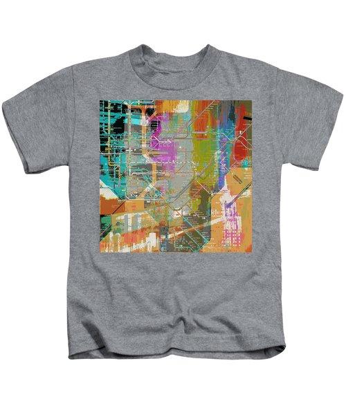 New York Subway Map Kids T-Shirt ef327ca9726