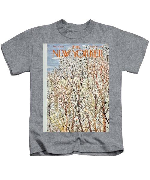 New Yorker January 31 1959 Kids T-Shirt