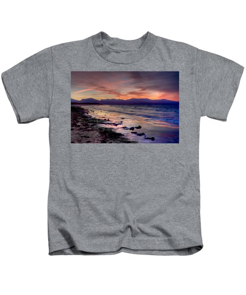 Newborough Sunrise Kids T-Shirt