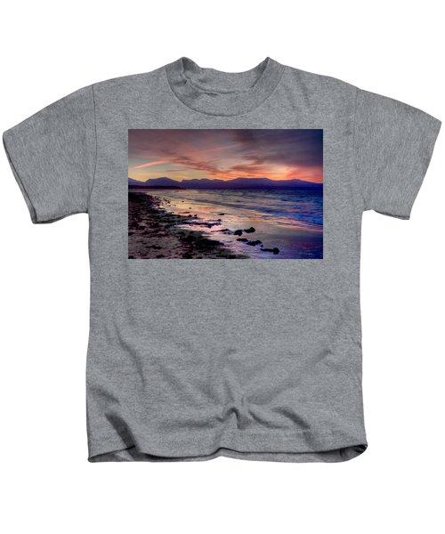 Newborough Sunrise Kids T-Shirt
