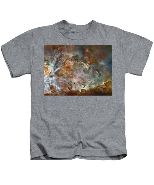 Ngc 3372 Taken By Hubble Space Telescope Kids T-Shirt