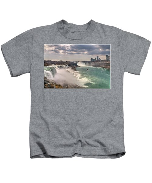 Niagra Waterfalls Kids T-Shirt