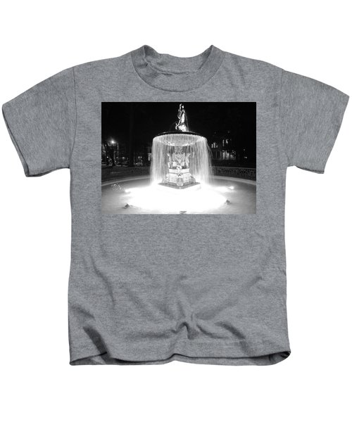 Night Fountain Kids T-Shirt