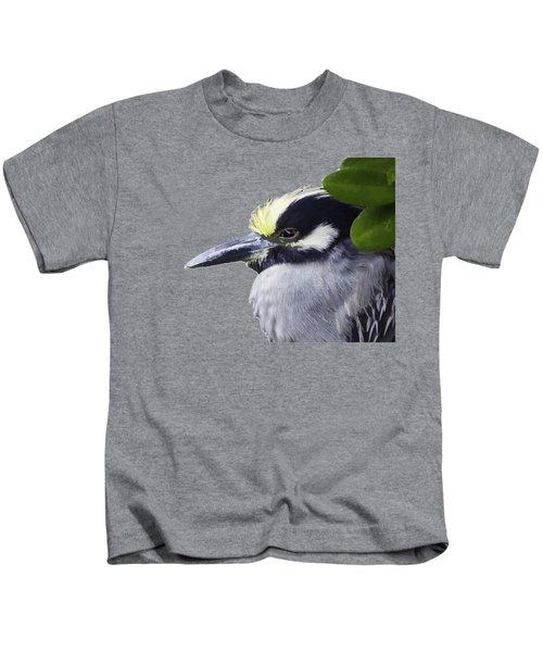 Night Heron Transparency Kids T-Shirt
