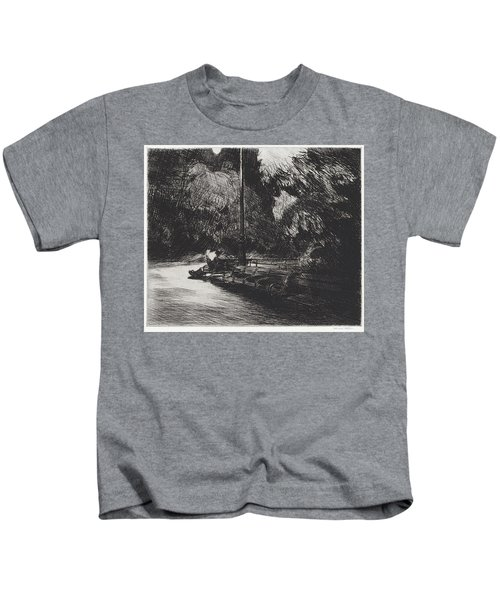 Night In The Park Kids T-Shirt