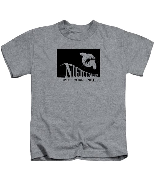 Night Raider Ww2 Malaria Poster Kids T-Shirt