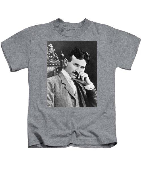 Nikola Tesla Kids T-Shirt