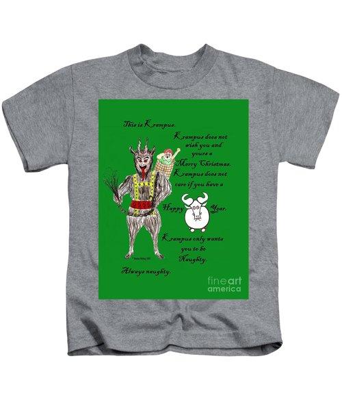No Happy Gnu Year Kids T-Shirt