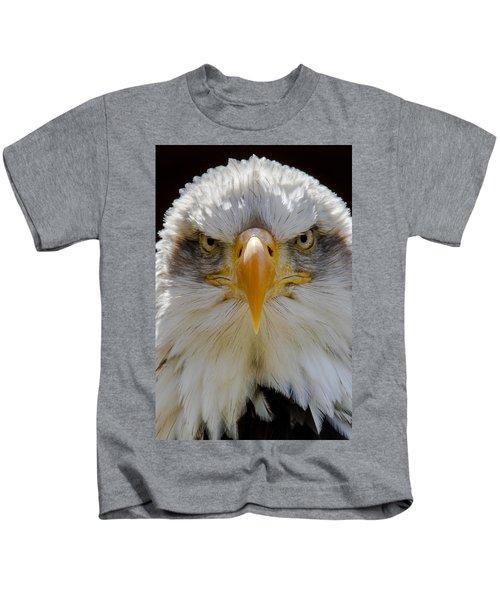 North American Bald Eagle  Kids T-Shirt