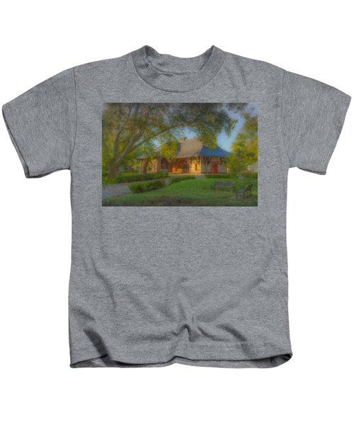 North Easton Train Station Kids T-Shirt