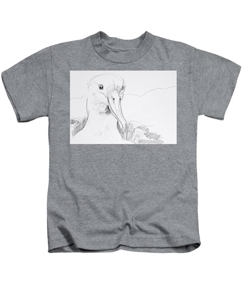 Northern Royal Albatross Kids T-Shirt