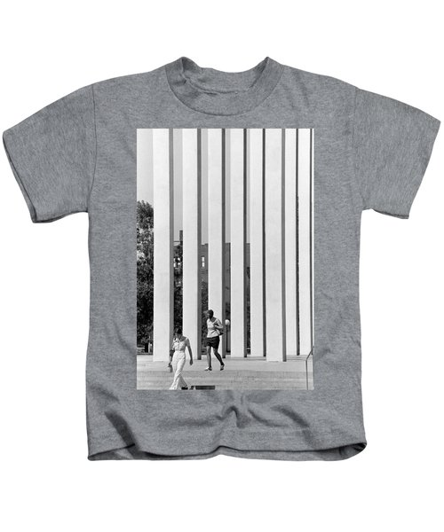Northwestern National Life Columns Kids T-Shirt
