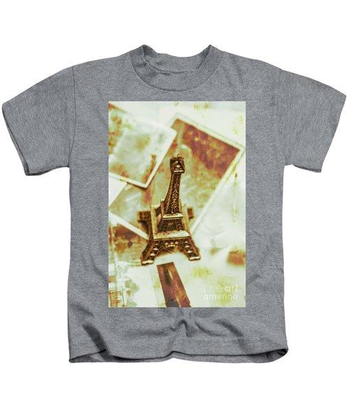 Nostalgic Mementos Of A Paris Trip Kids T-Shirt