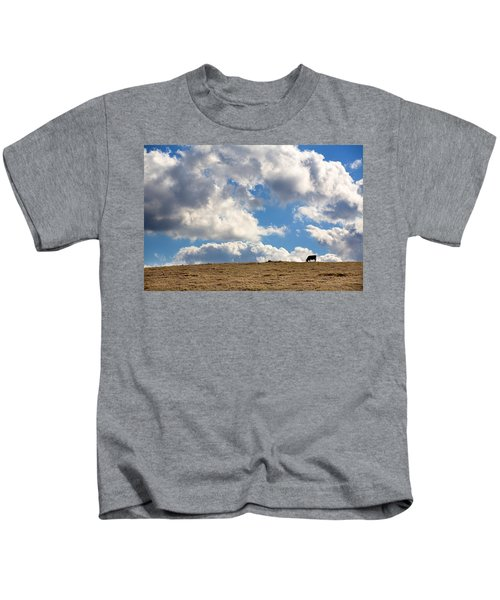 Not A Cow In The Sky Kids T-Shirt