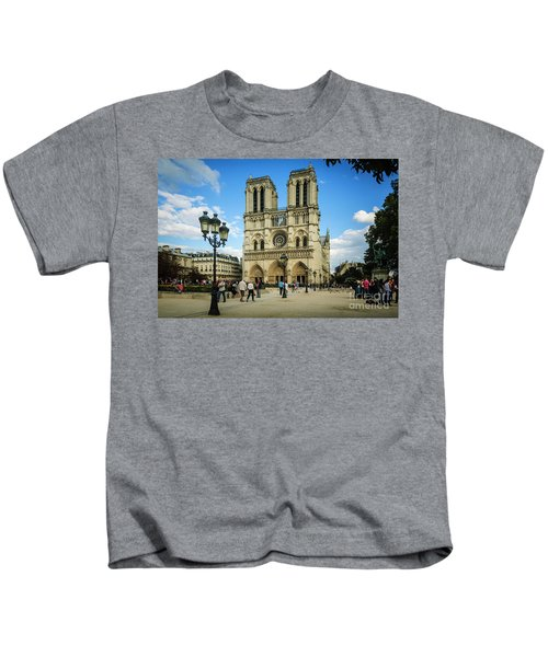 Notre Dame Cathedral Kids T-Shirt