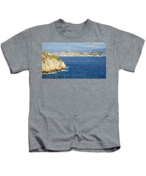 Notre Dame De La Garde Marseille  Kids T-Shirt