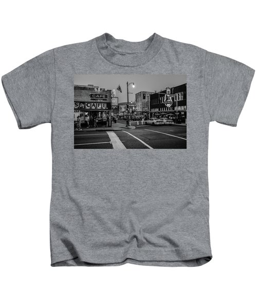 Now Entering Beale  Kids T-Shirt