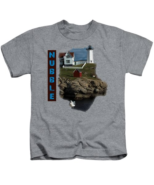 Nubble T-shirt Kids T-Shirt by Mim White