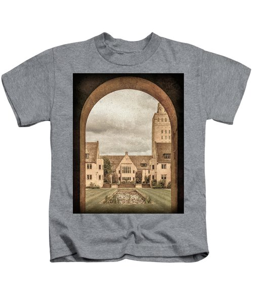Oxford, England - Nuffield College Kids T-Shirt
