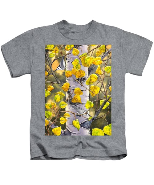 Nuthatches Kids T-Shirt