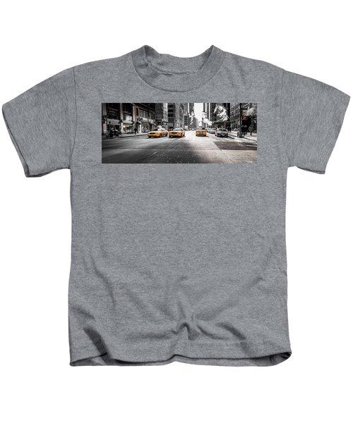 Nyc Taxi Kids T-Shirt