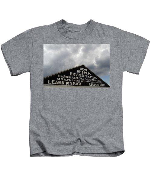 Oaks Skating Rink Kids T-Shirt