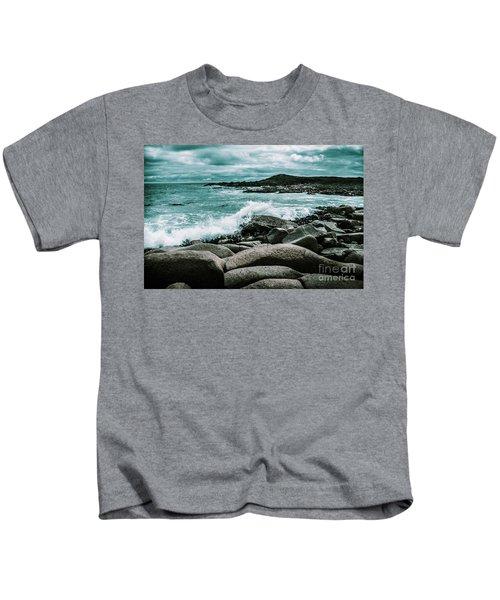Ocean Blue Granville Harbour Kids T-Shirt