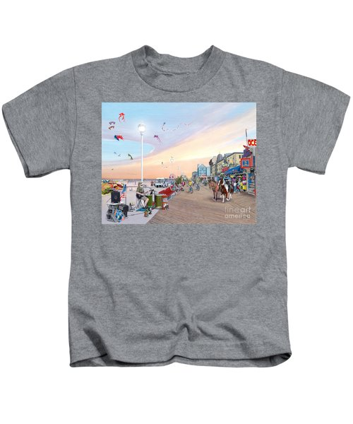 Ocean City Maryland Kids T-Shirt