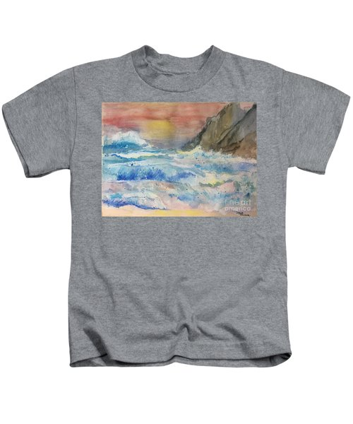Ocean Waves Kids T-Shirt