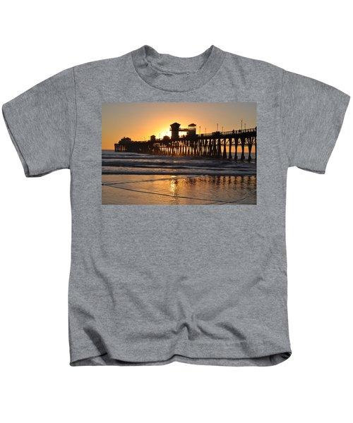 Oceanside Pier Kids T-Shirt