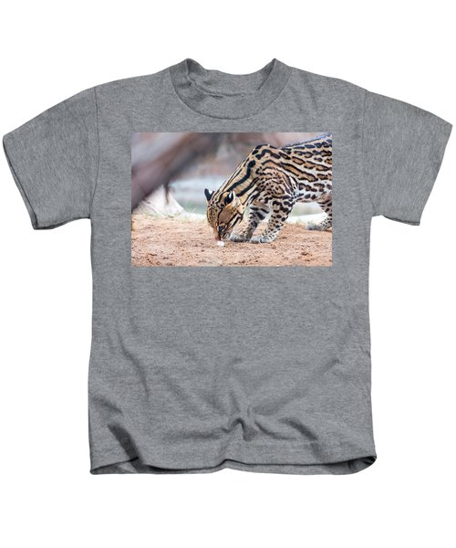 Ocelot And Egg Kids T-Shirt