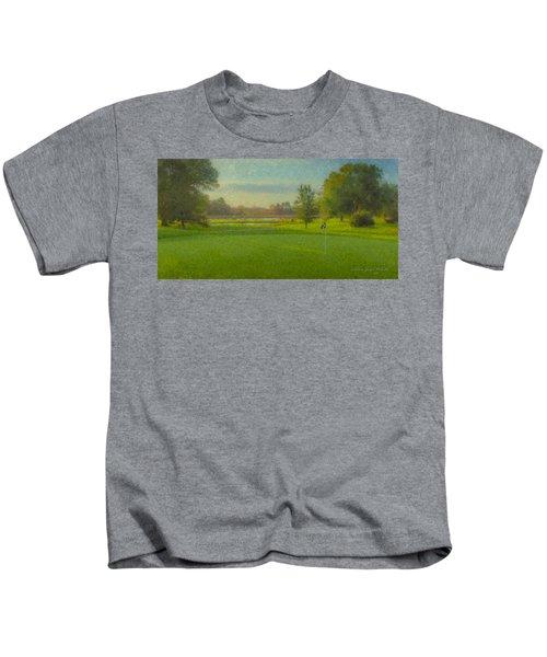 October Morning Golf Kids T-Shirt