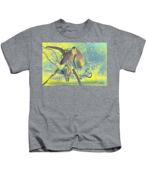 Octupus -1 Kids T-Shirt