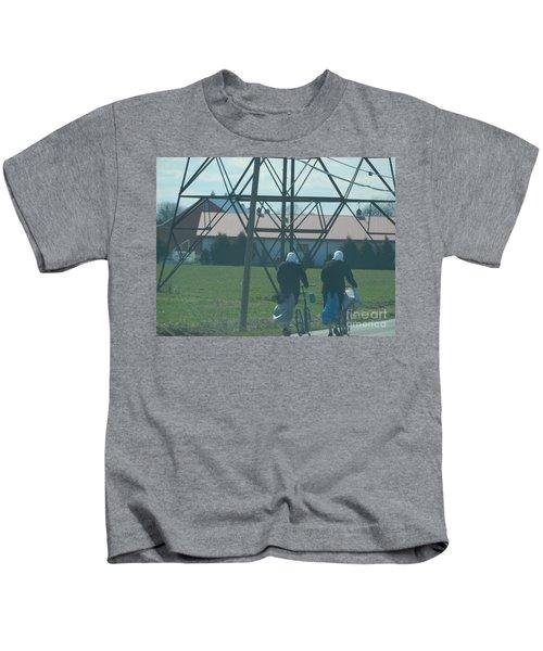 Off To Shop Kids T-Shirt
