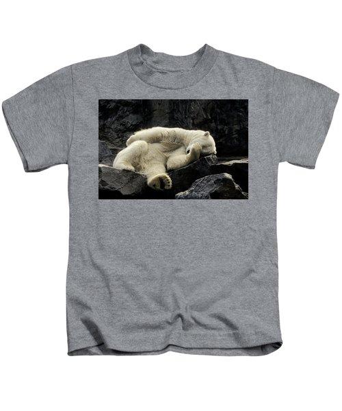 Oh What A Night Polar Bear Kids T-Shirt