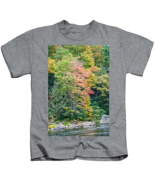 Ohio Pyle Colors - 9709 Kids T-Shirt