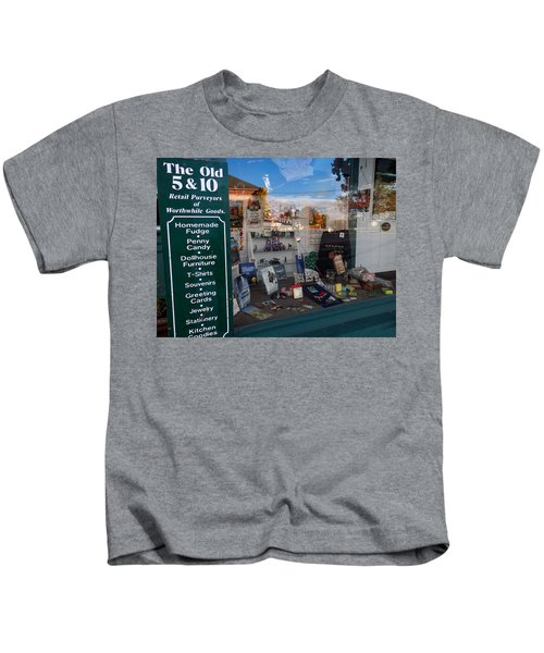 Old 5 And 10 North Conway Kids T-Shirt