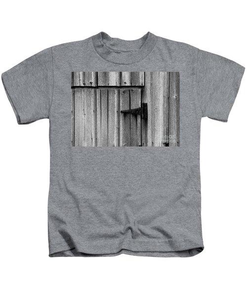 Old Barn Door Kids T-Shirt