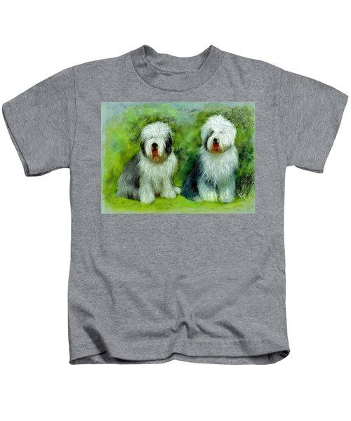 Old English Sheepdog Kids T-Shirt