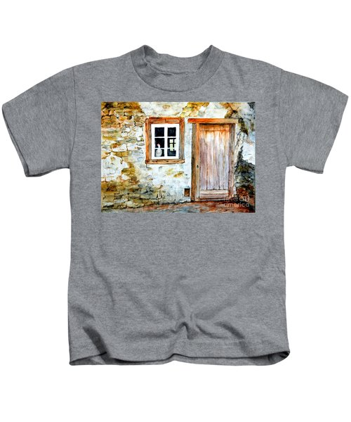Old Farm House Kids T-Shirt