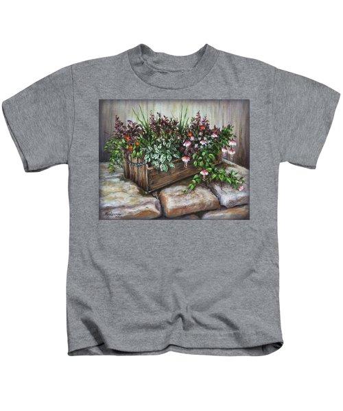Old Flower Box Kids T-Shirt