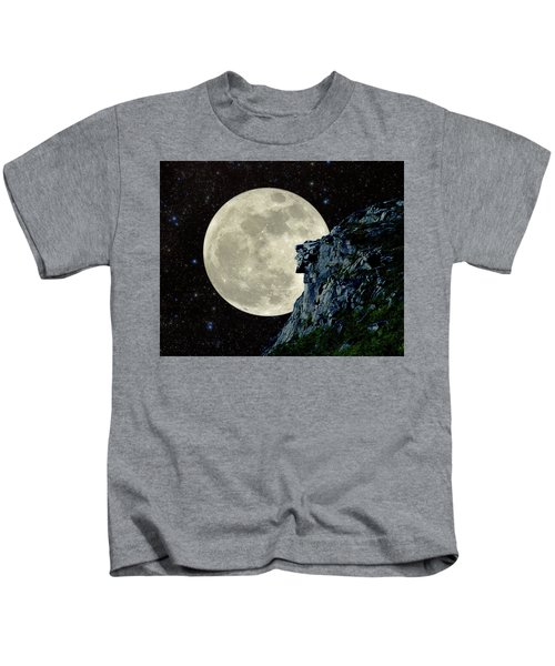 Old Man / Man In The Moon Kids T-Shirt