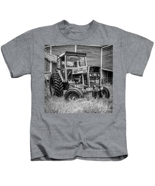 Old Mf Tractor Square Kids T-Shirt
