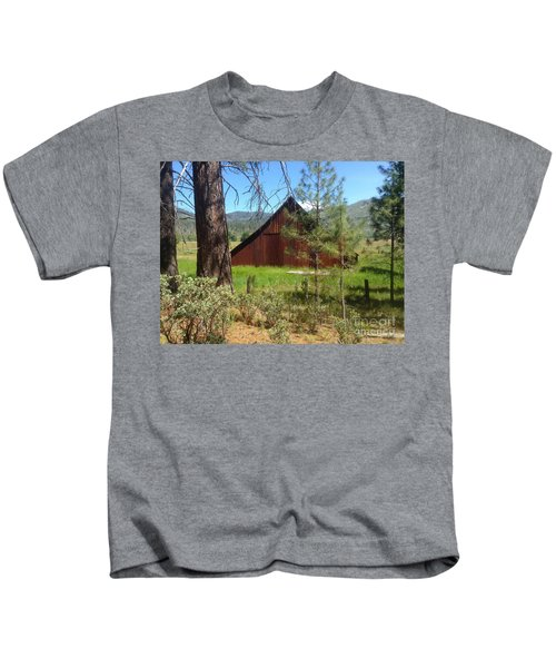 Old Red Barn Kids T-Shirt
