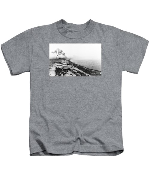 Old Rowing Boat Kids T-Shirt
