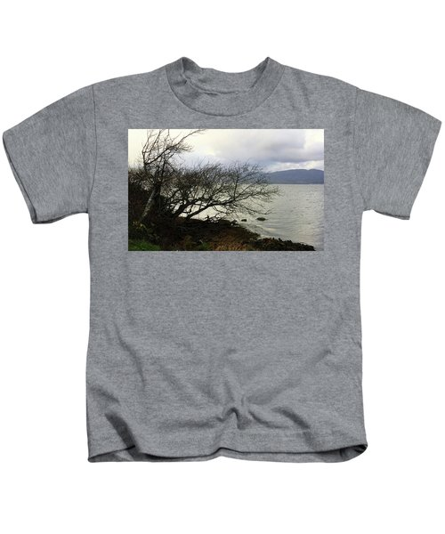 Old Tree By The Bay Kids T-Shirt