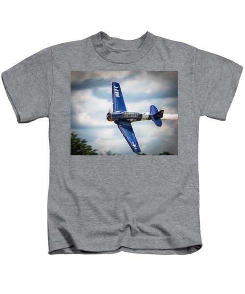 Old Warbird Trainer Kids T-Shirt