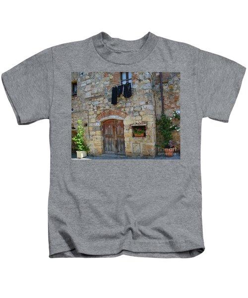Old World Door Kids T-Shirt