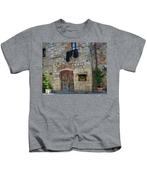Old World Door Kids T-Shirt