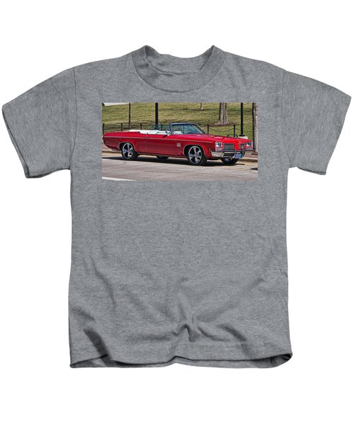 Oldsmobile Delta Royale 88 Red Convertible Kids T-Shirt